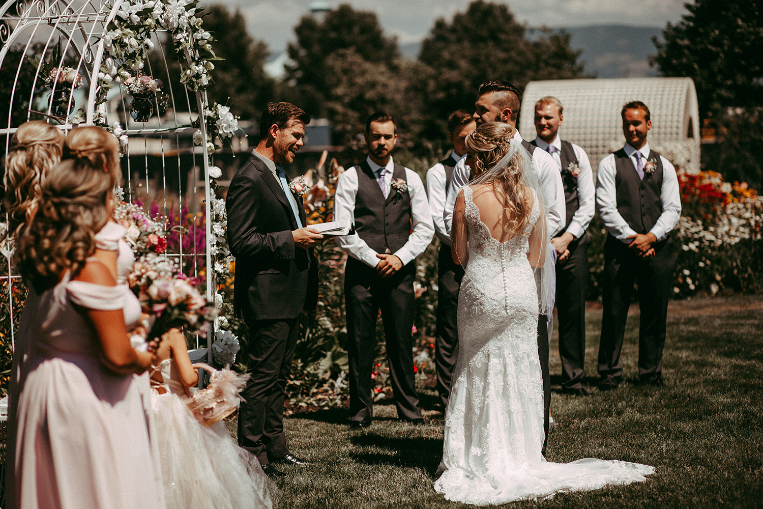 Guisachan House Vintage Wedding Kelowna