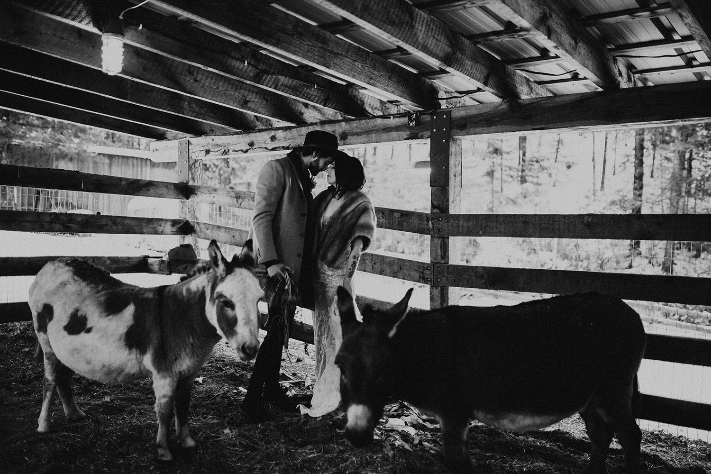 Caldwell Heritage Farm Intimate Elopement Kelowna