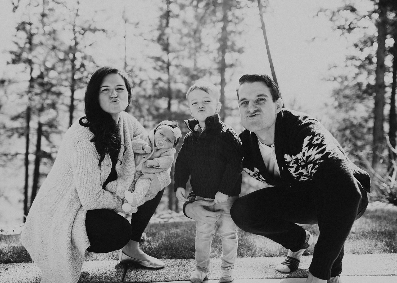 In-Home Kelowna Family Photos