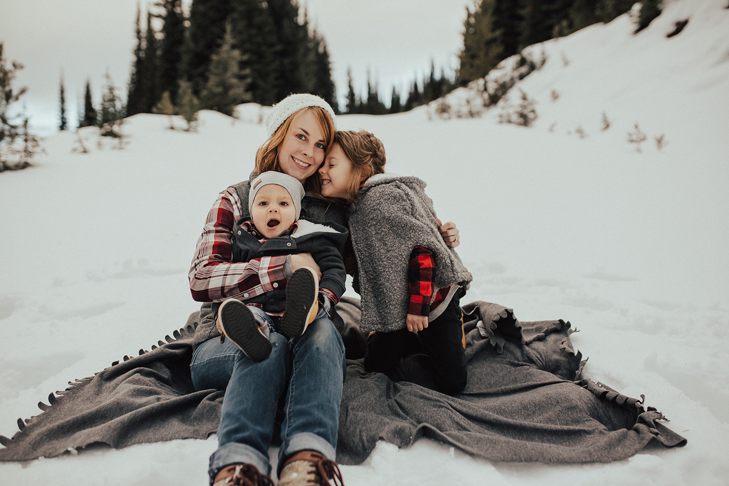 Winter Family Photos at Big White