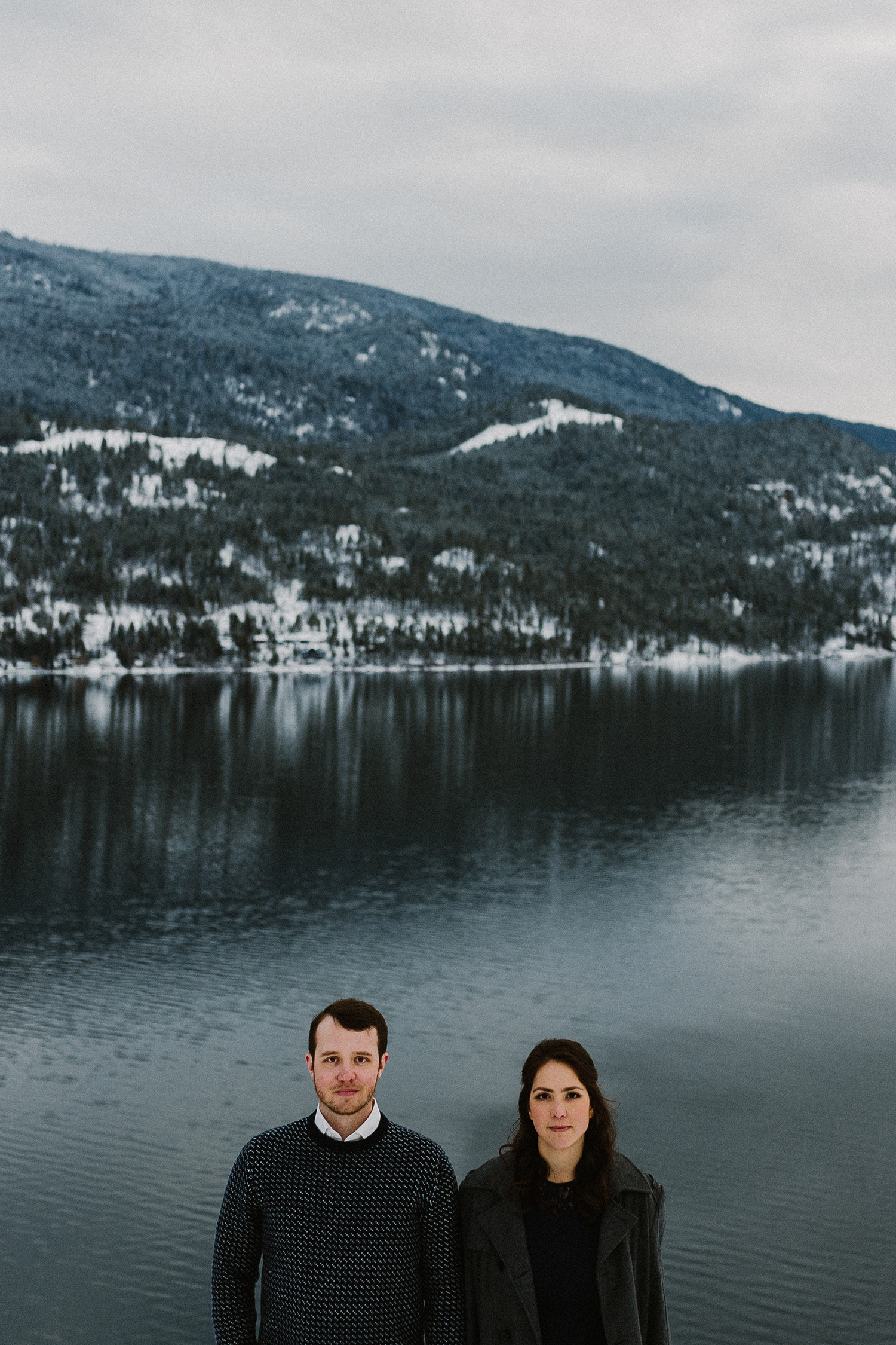 Kal Lake Park Vernon Engagement Photography