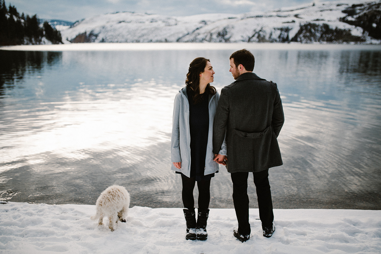 Kal Lake Park Vernon Engagement Photography