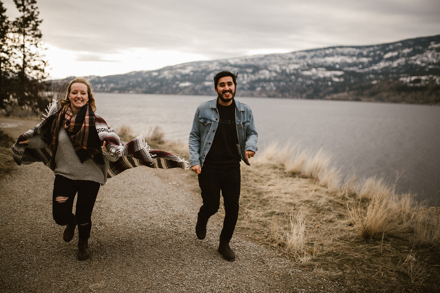 Knox Mountain Engagement Photography