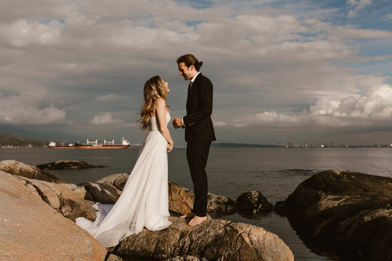 Lighthouse Park, Vancouver, Elopement Photography