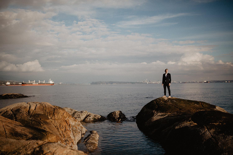 Lighthouse Park, Vancouver, Elopement Photography
