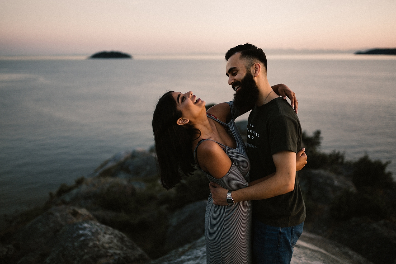 Vancouver Engagement Photographer, Whytecliff Park Engagement