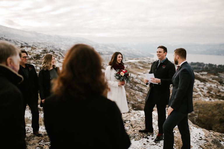 Kelowna Winter Elopement