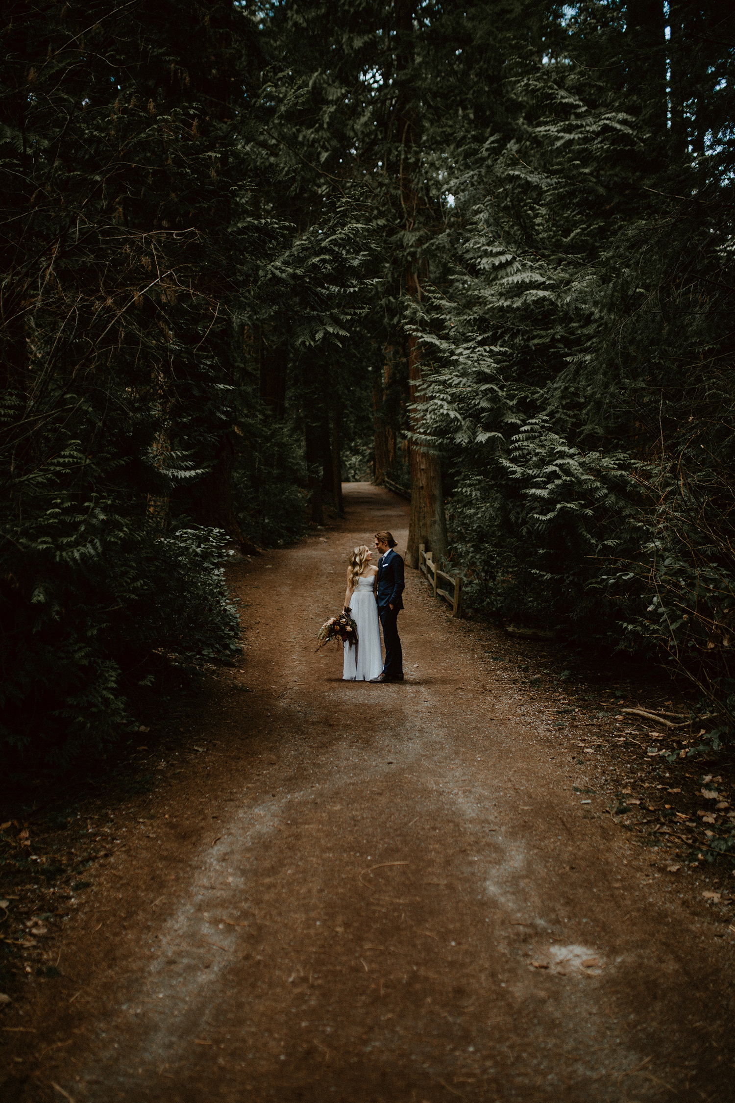Vancouver Intimate Forest Elopement