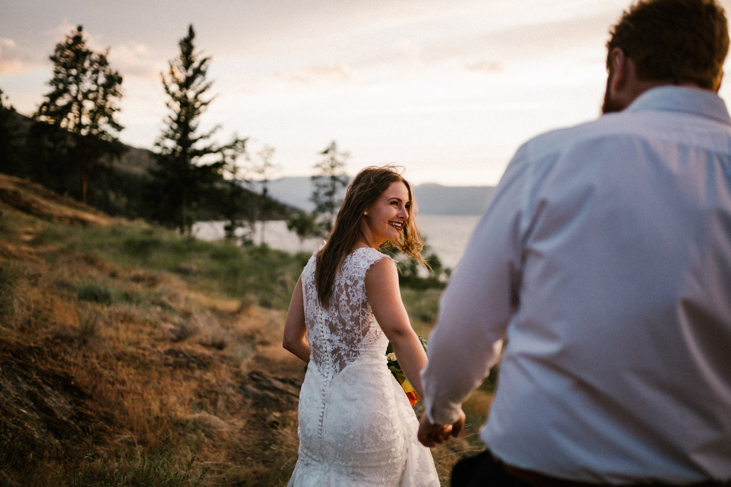 Kelowna Spring Elopement at Bertram Creek Park