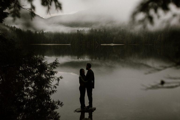 Vancouver Engagement Photography at Belcarra Provincial Park