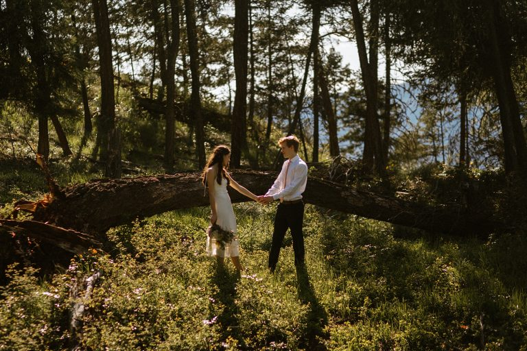 Intimate Kelowna Wedding on a Mountain Top by Abigail Eveline Photography